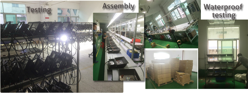 LED Security Flood Lights