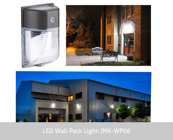 3000LM Dusk to Dawn Wall Outdoor Led Wall Mount Light 26W LED Wall Pack Light